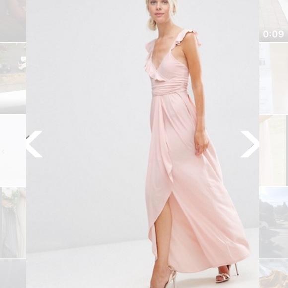 ASOS Dresses & Skirts - ASOS Ruffle Strappy Maxi Dress
